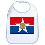 Dallas Flag Bib