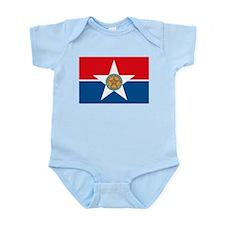 Dallas Flag Infant Creeper