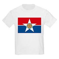 Dallas Flag Kids T-Shirt