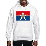 Dallas Flag Hooded Sweatshirt