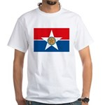 Dallas Flag White T-Shirt
