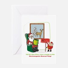 Santa 2012 Greeting Card