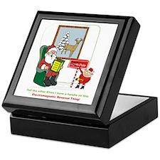Santa 2012 Keepsake Box