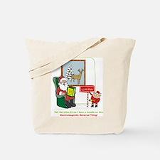 Santa 2012 Tote Bag