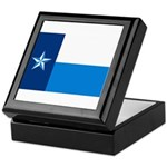 Dallas County Flag Keepsake Box
