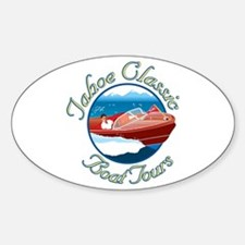 Tahoe Classic Boat Tours Oval Decal