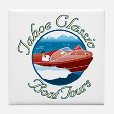 Tahoe Classic Boat Tours Tile Coaster