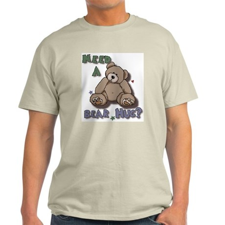 Need A Bear Hug? Ash Grey T-Shirt