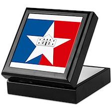 San Antonio Flag Keepsake Box