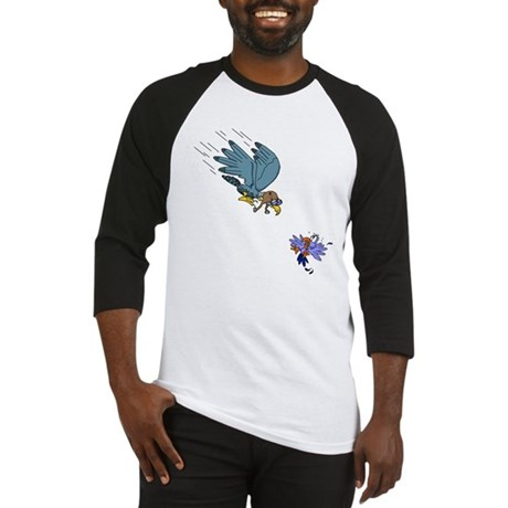 Falcon with goggles Baseball Jersey