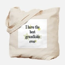 I have the best grandkids eve Tote Bag