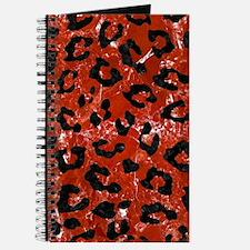 SKN5 BK-RD MARBLE Journal