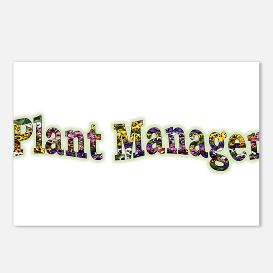 Pansy Plant Manager Postcards (Package of 8)