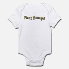 Pansy Plant Manager Infant Bodysuit