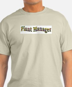 Pansy Plant Manager T-Shirt