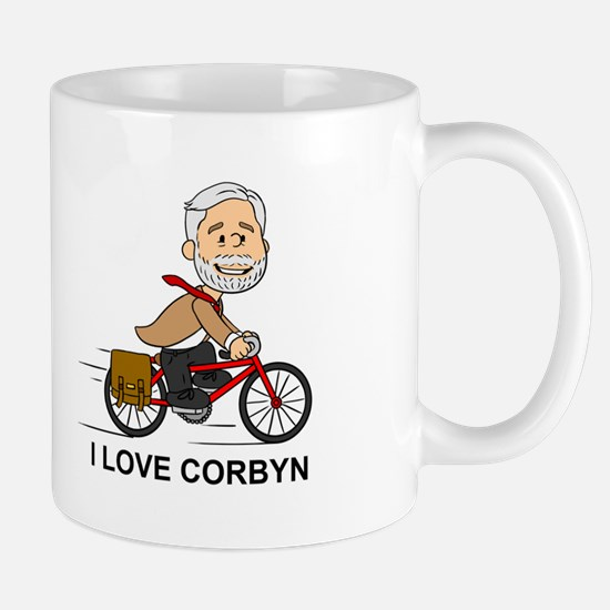 I Love Corbyn Mugs