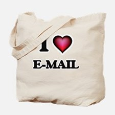 I love E-MAIL Tote Bag