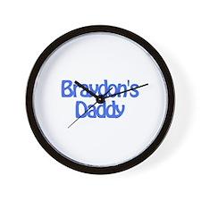 Braydon's Daddy Wall Clock