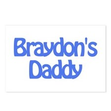 Braydon's Daddy Postcards (Package of 8)