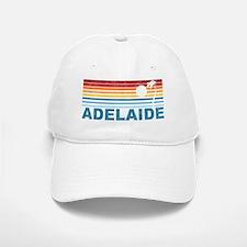 Retro Adelaide Palm Tree Baseball Baseball Cap