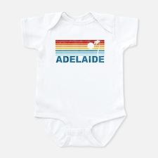 Retro Adelaide Palm Tree Infant Bodysuit