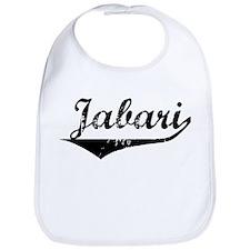 Jabari Vintage (Black) Bib
