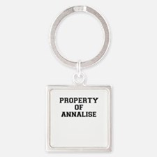 Property of ANNALISE Keychains