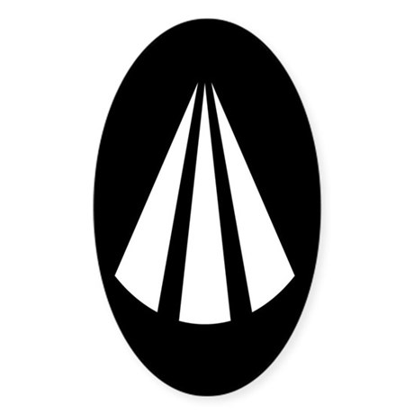 Awen Oval Sticker