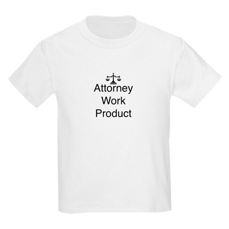 Attorney Work Product Kids Light T-Shirt