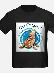 Bearded Dragon Got Crickets II T-Shirt