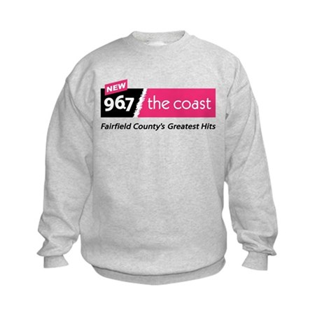 96.7 THE COAST Kids Sweatshirt