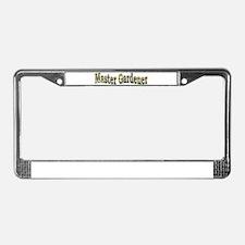 Master Gardener License Plate Frame