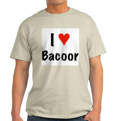 I love Bacoor Light T-Shirt