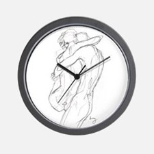 Swept Of Feet Wall Clock