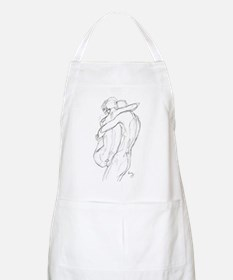 Swept Of Feet BBQ Apron