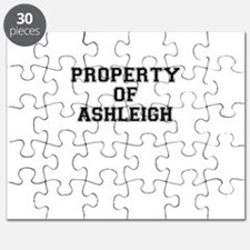 Property of ASHLEIGH Puzzle