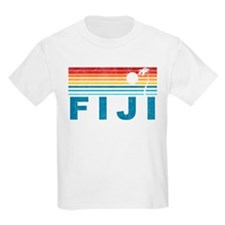 Retro Fiji Palm Tree T-Shirt