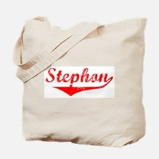 Stephon Vintage (Red) Tote Bag