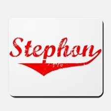 Stephon Vintage (Red) Mousepad