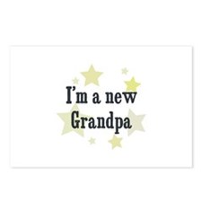 I'm a new Grandpa Postcards (Package of 8)