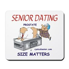 Prostate size matters-dating Mousepad