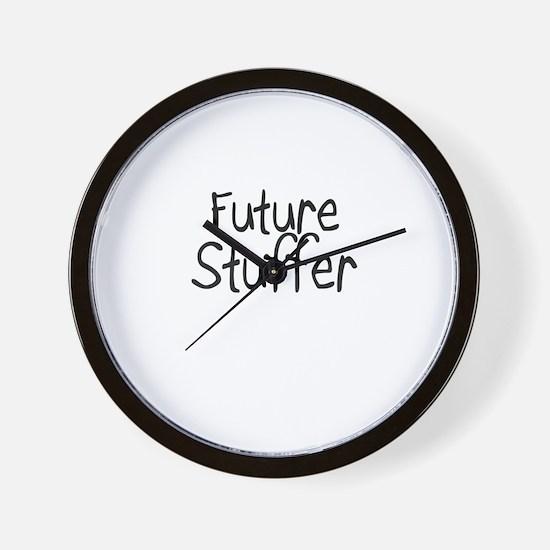 Future Stuffer Wall Clock