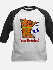 MN-Betcha! Kids Baseball Jersey