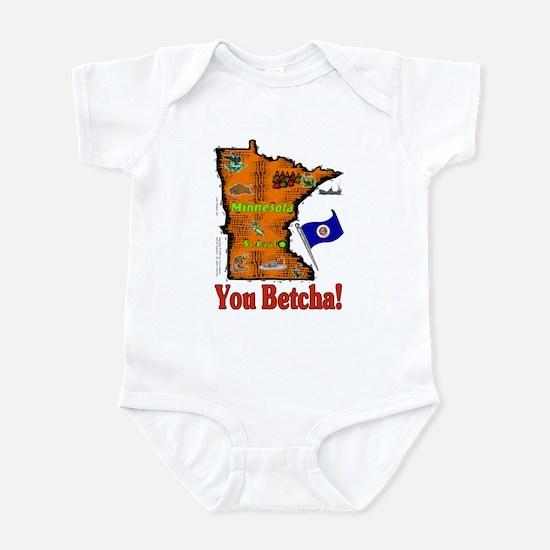 MN-Betcha! Infant Bodysuit