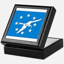 Corpus Christi Flag Keepsake Box