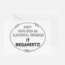 Electrical Engineer Greeting Card