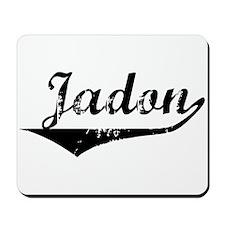 Jadon Vintage (Black) Mousepad