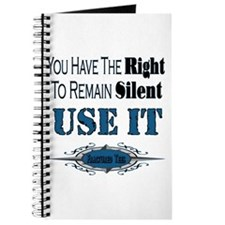 Right To Remain Silent Journal