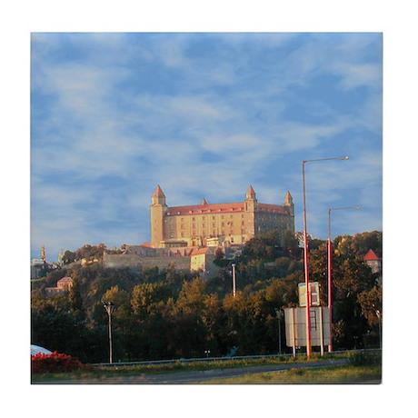 Bratislava Castle, Slovakia Tile Coaster