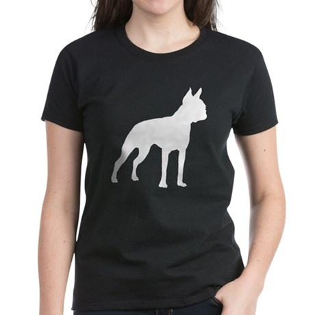 Boston Terrier Women's Dark T-Shirt